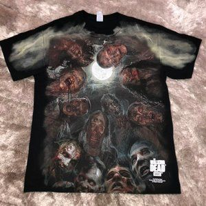 The Walking Dead 2015 TV Series AMC Zombie Shirt